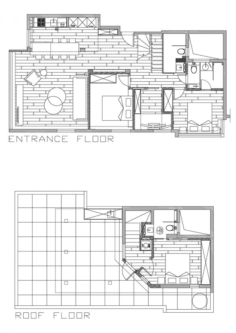on tlv duplex penthouse plan